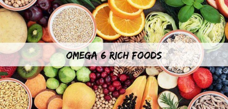 Omega-6 Fatty Acids nutrients