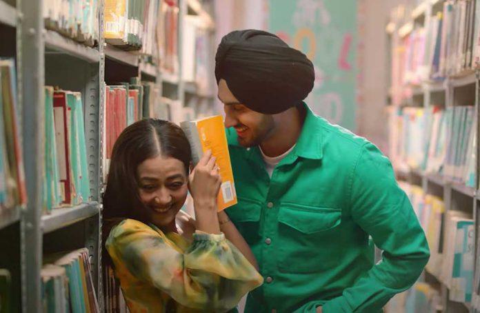 New song release of Neha Kakkar and Rohanpreet Singh Video is trending on YouTube