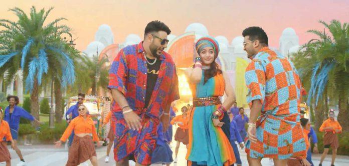 badshah and rashmika mandanna top tucker song trending on youtube
