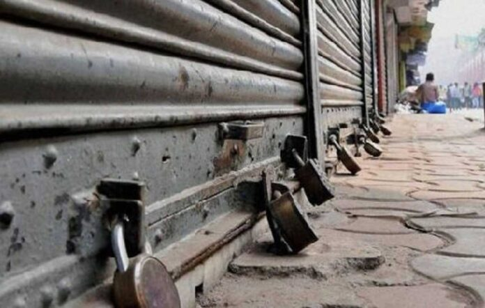 Bharat Bandh: Impact seen in many states, roads in many cities dipped, shops closed