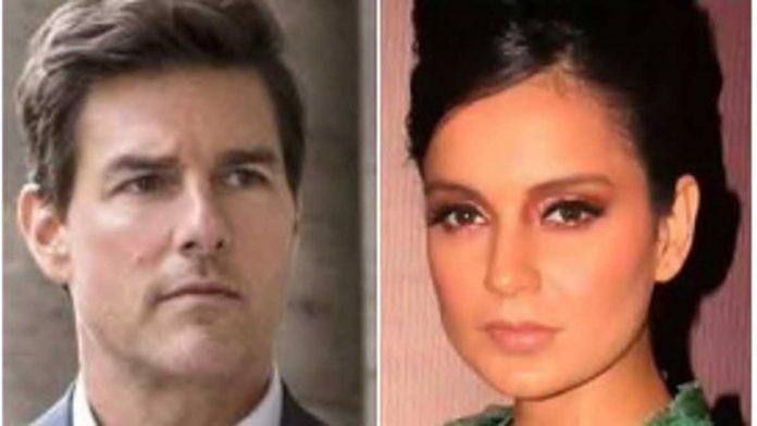 Another tweet of Kangana Ranaut told herself better than Tom Cruise
