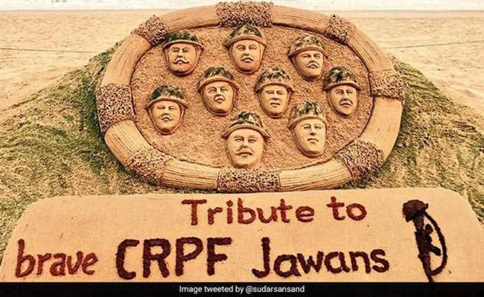 CRPF paid tribute to its martyred soldiers, saying they will never forget martyrdom