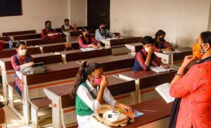 Schools from one to fifth open in UP with observance of covid-19 rules
