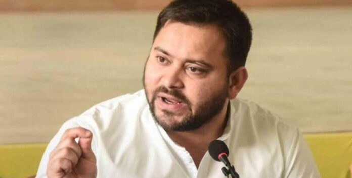Tejashwi Yadav targets the central government- says Nazi government,