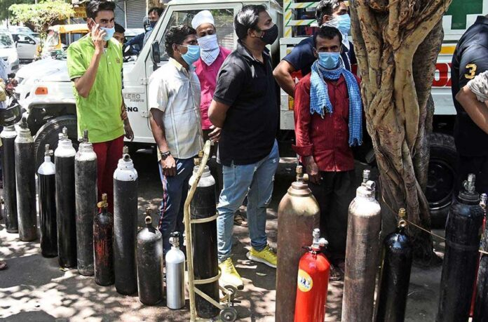 India had three times more liquid oxygen than the demand of 12 states