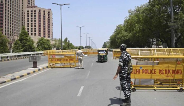 Delhi Lockdown extended by one more week