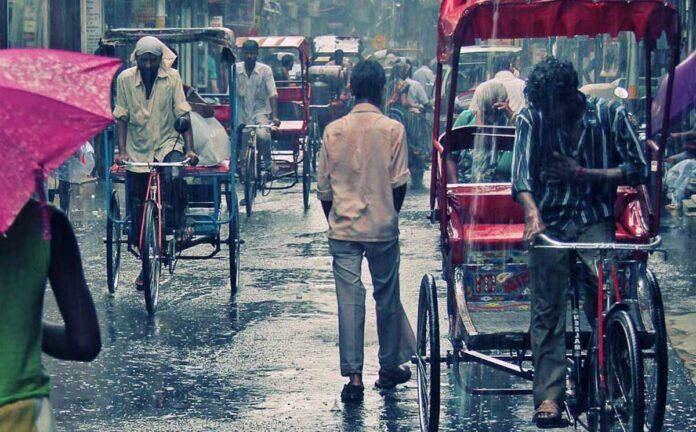 Maximum rain in May in Delhi in13 years