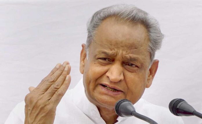 Ashok Gehlot demands probe into alleged land deal scam in Ayodhya