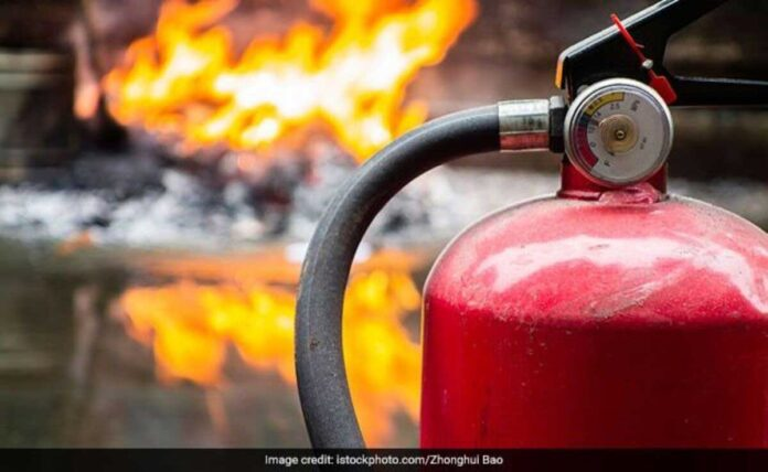 Massive fire at Gujarat Ink factory