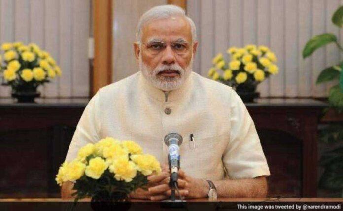 PM Modi urges people to focus on rainwater harvesting