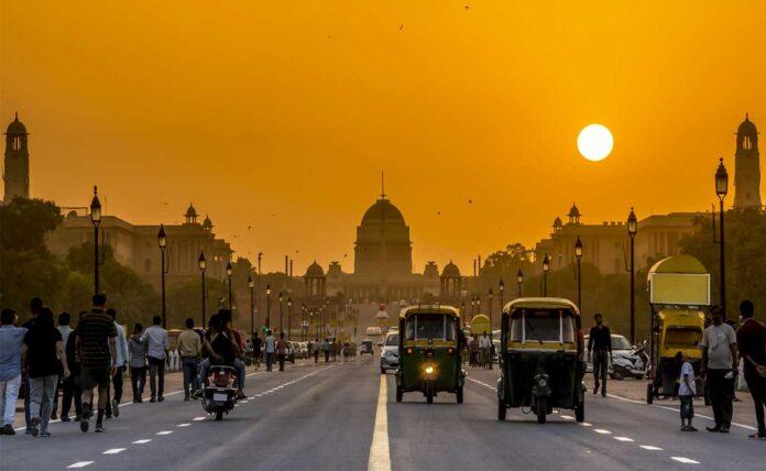 The maximum temperature recorded in Delhi is 39.8 degree Celsius