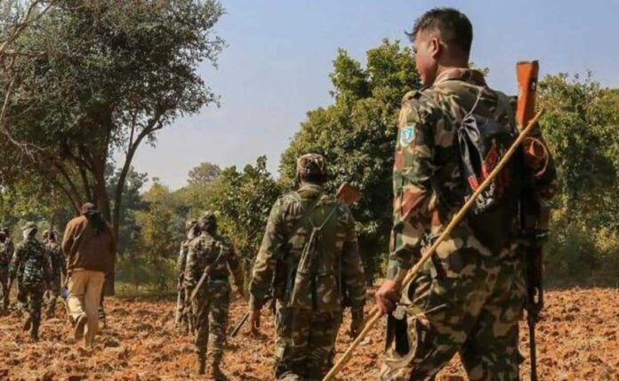 Wanted Maoist in 25 criminal cases killed in encounter