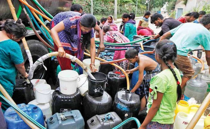 Water supply to be disrupted in many areas of Delhi on June 20 Delhi Jal Board