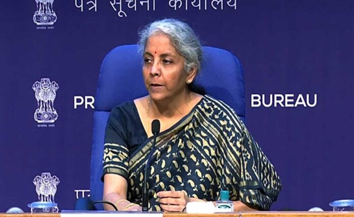 Finance minister Sitharaman announced measure to revive economy