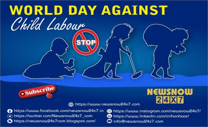 2021 has been declared as the International Year for the Elimination of Child Labour
