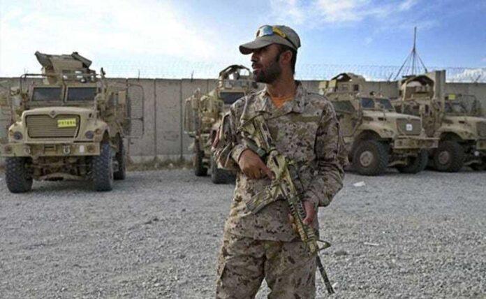 Afghan troops struggled after Americans leaves Bagram Air Base