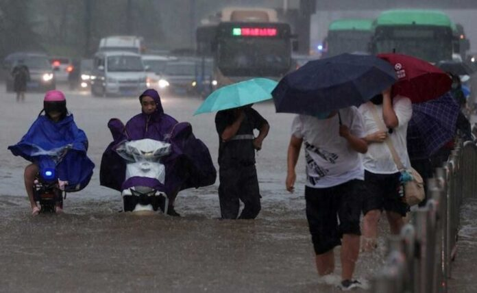 Floods in China extremely serious Xi Jinping