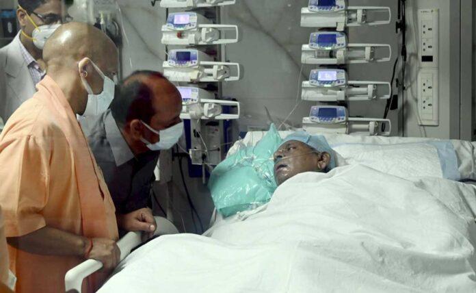 Former UP CM Kalyan Singh critical on life support system