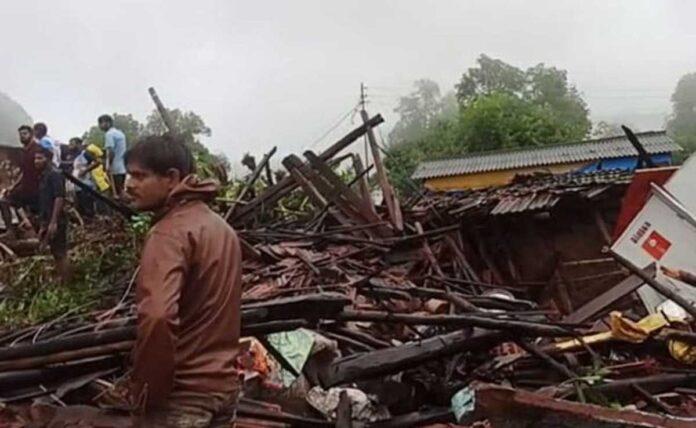 Affected by rain Landslides in Maharashtra: 36 Died
