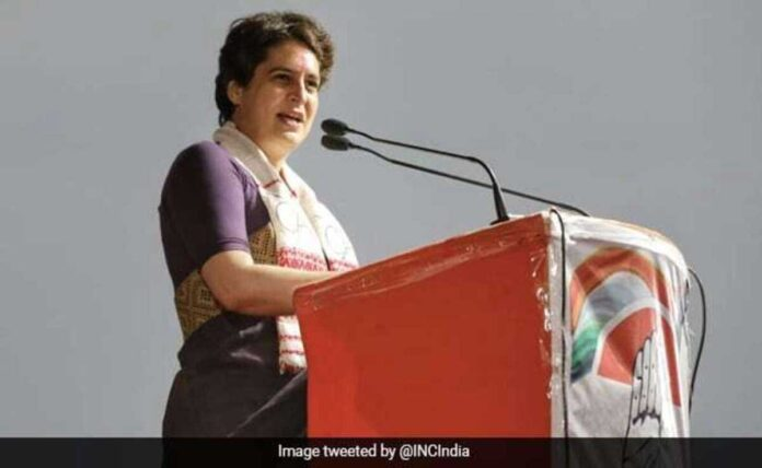 Priyanka Gandhi Criticizes Centre For