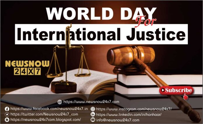 World Day for International Justice 2021