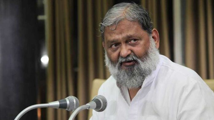 Haryana minister Anil Vij hospitalized due to falling oxygen level