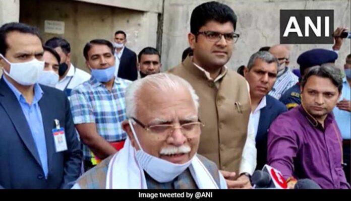 Haryana CM ML Khattar on lathicharge