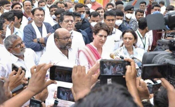 Priyanka Gandhi: For food security, agricultural laws have to be repealed