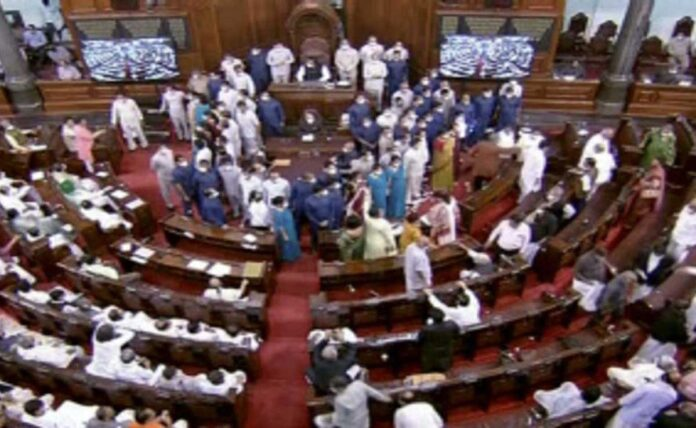 TMC attack on Modi government; 7 questions on the uproar in Parliament