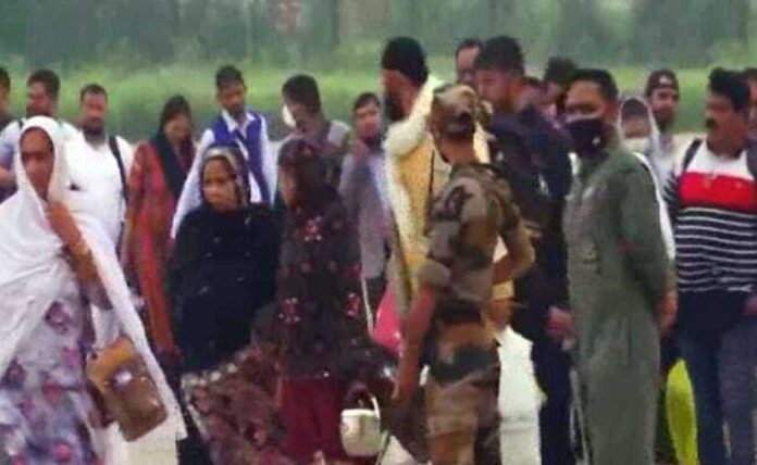Troubled by experience of Taliban, 168 arrived in India in Air Force flight