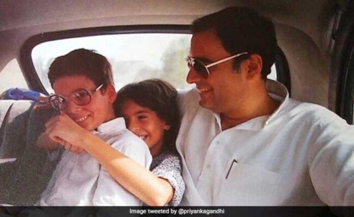 On Rakhi, Rahul Gandhi's message on Priyanka,