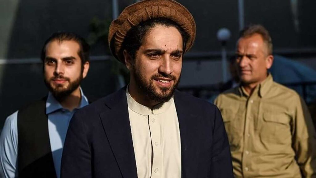 Ahmad Massoud, the son of former taliban head Ahmad Shah Massoud.