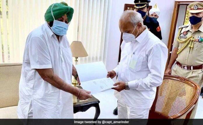 Amarinder Singh resigns as CM, says