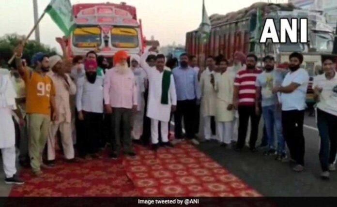 Bharat Bandh: all expressway of Delhi blocked