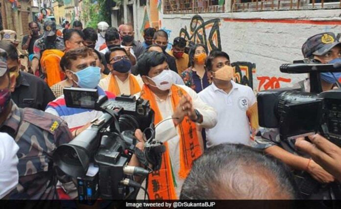 Case against Bengal BJP president Sukanta Majumdar