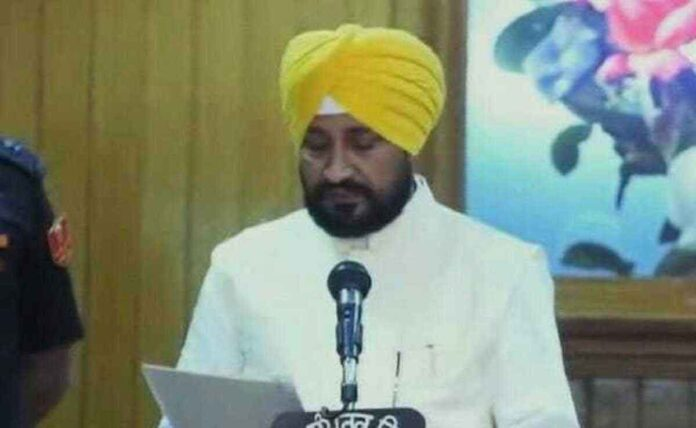 Charanjit Singh Channi takes oath as Chief Minister of Punjab