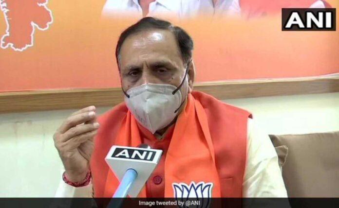 Chief Minister Of Gujarat Vijay Rupani resigns