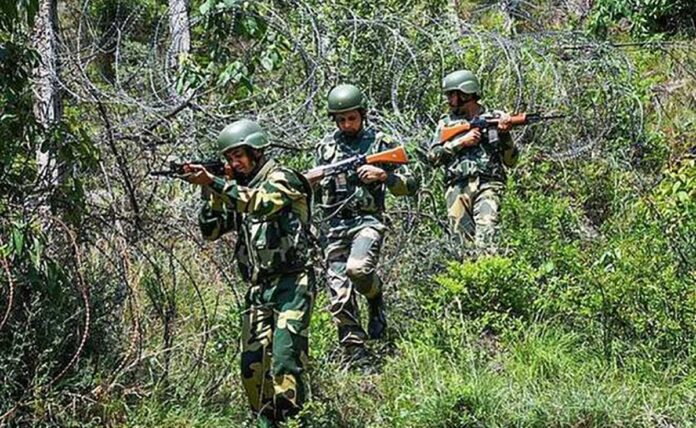 Firing between security forces and Maoists at Andhra-Odisha border