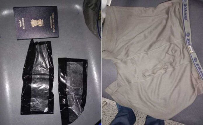Gold worth Rs 43 Lakh In Underwear, busted by Hyderabad customs