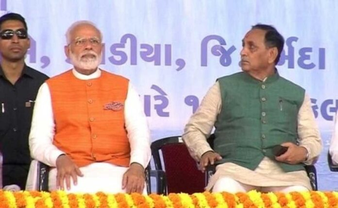Gujarat CM, cabinet resign a year before state elections