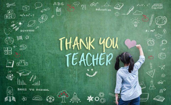 Delhi government will honour 122 teachers on Teacher's Day