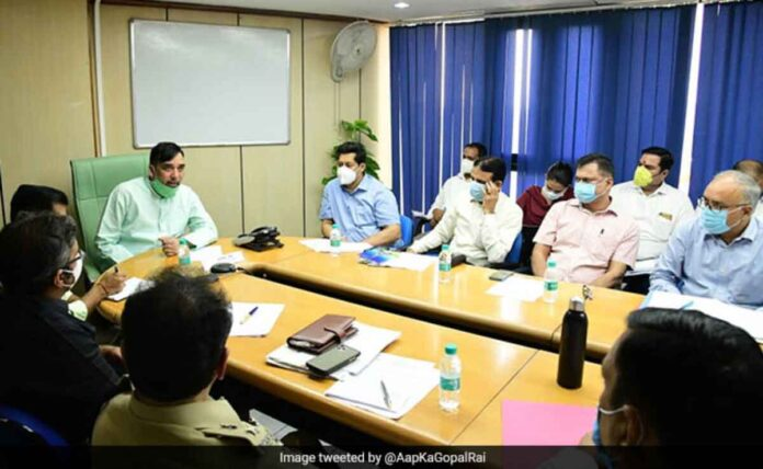 Delhi government's anti-pollution campaign starting from 18 oct