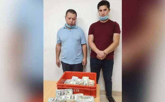 Rs 86 lakh worth US dollars seized from two foreigners at Delhi airport