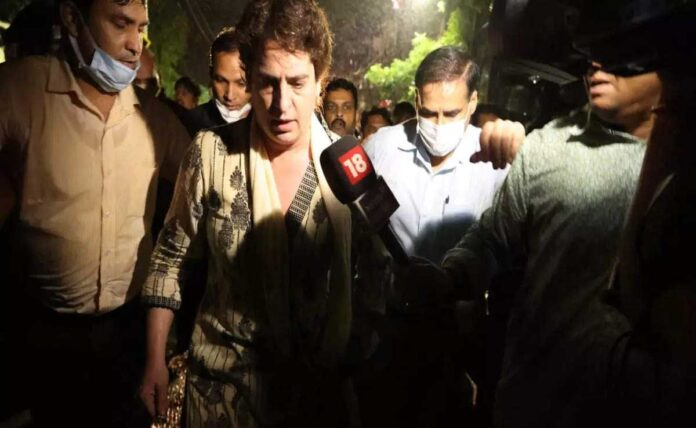 Priyanka Gandhi To UP Police: